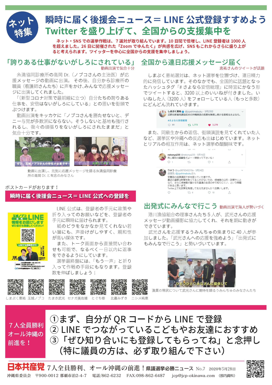 県議選ネット特集ニュース